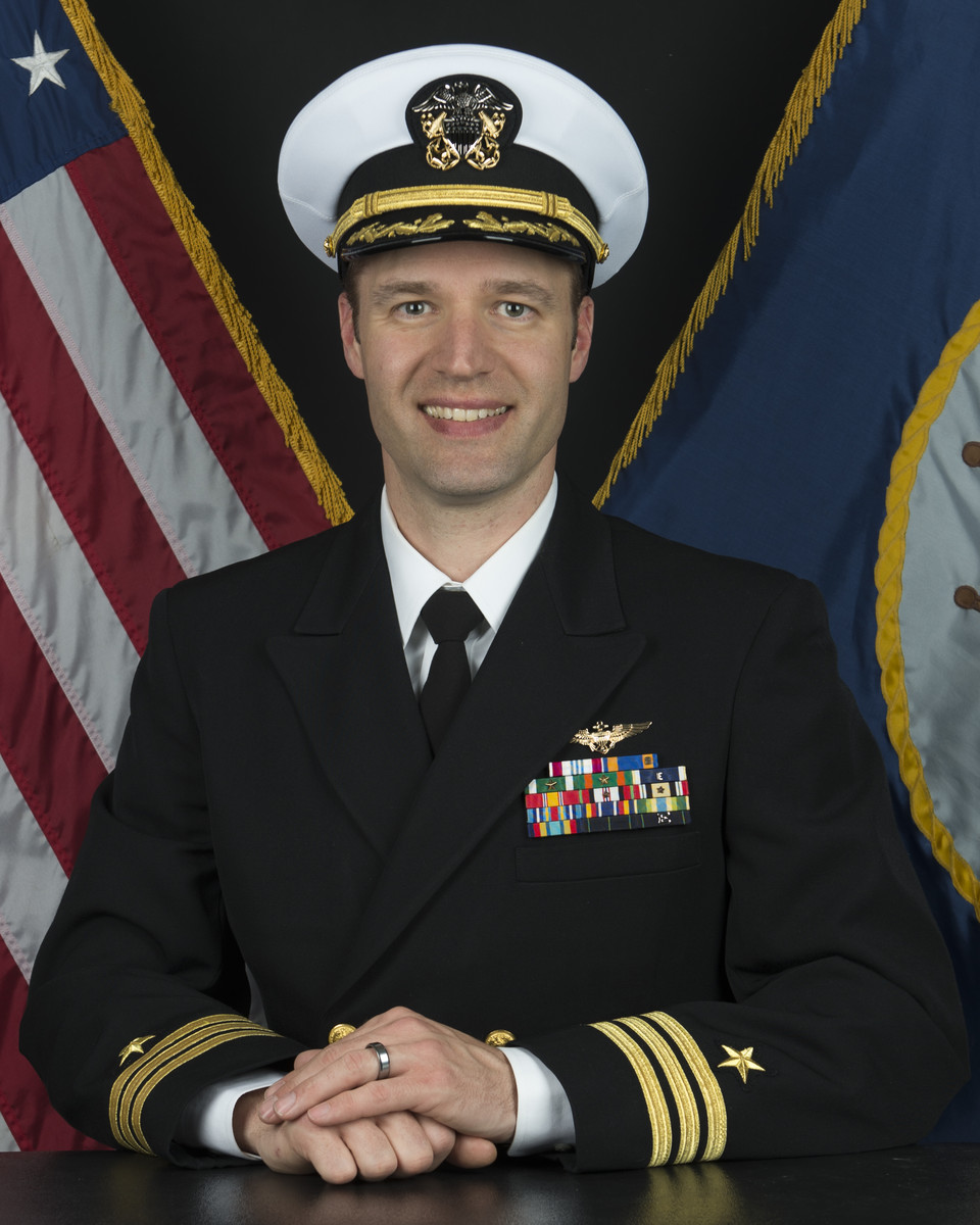 CDR Behlke offical photo